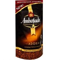 Кофе 'Ambassador' (Амбассадор) Adora растворимый сублимированный 80г пакет