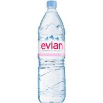 Вода минеральная 'Evian' (Эвиан) негазированная 1,5л пл.бутылка