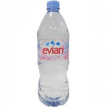 Вода минеральная 'Evian' (Эвиан) негазированная 1,0л пл.бутылка