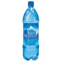 Вода питьевая 'Aqua Minerale' (Аква Минерале) газированная 1,25л пластиковая бутылка