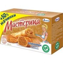 Блинчики 'Мастерица' с вареной сгущенкой 6шт 420г Талосто