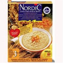 Хлопья 4-вида зерновых 'Nordic' (Нордик) с овсяными отрубями 600г Финляндия