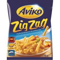 Картофель-фри 'Aviko' (Авико) волнистый 750г замороженный