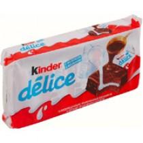 Бисквит 'Kinder Delice' (Киндер Делис) в шоколадной глазури 10шт*42г Ферреро