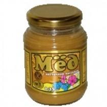Мед 'Коломенский' c цветочной пыльцой натуральный 350г ст.банка