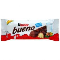 Батончик шоколадный 'Kinder' (Киндер) bueno (буэно) с молочно-ореховой начинкой 43г