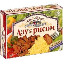 Азу с рисом 'СытоЕдов' 350г замороженное блюдо