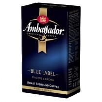 Кофе 'Ambassador' (Амбассадор) Blue Label молотый 250г пакет Италия