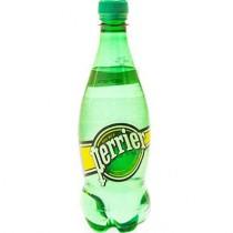 Вода минеральная 'Perrier' (Перье) газированная 0,5л пл. бутылка