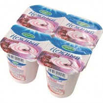 Йогурт 'Campina' (Кампина) Нежный с соком вишни 1,2% 100г 1шт