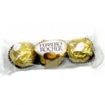 Конфеты шоколадные 'Ferrero Rocher' (Ферреро Роше) Т3 3шт 37,5г Италия