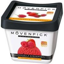 Мороженое 'Movenpick' (Мовенпик) малиново-клубничный сорбет 900мл Швейцария