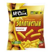 Картофель 'McCain' (Мак Каин) фри золотистый волнистый 750гр замороженный