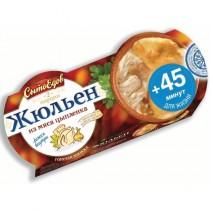 Жюльен из мяса цыпленка 'СытоЕдов' 270г замороженное блюдо
