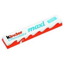 Батончик шоколадный 'Kinder' (Киндер) Макси с молочной начинкой 21г