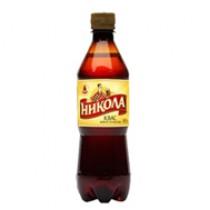 Квас 'Никола' традиционный 0,5л пл.бутылка