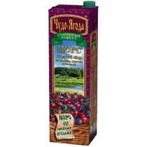 Морс 'Чудо-Ягода' ягодный сбор 0,97л
