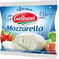 Сыр Моцарелла 'Galbani' (Гальбани) 45% 125г поли-пак