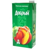 Нектар 'Добрый' персик яблоко 2,0л