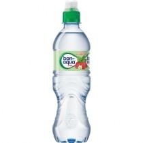 Вода питьевая 'Bon Aqua' (Бон Аква) Viva земляника и мята негазированная 0,5л пл/бут