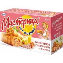 Блинчики 'Мастерица' с ветчиной и сыром 6шт 420г Талосто