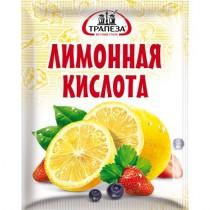 Кислота лимонная 'Трапеза' 25г пакет