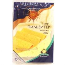 Сыр Тильзитер 'ДомоФуд' 45% 200г нарезка