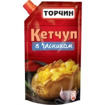 Кетчут 'Торчин' с чесноком 300г дойпак