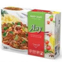 Азу с картофельным пюре под красным соусом 'Мираторг' 320г замороженное блюдо