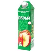 Нектар 'Добрый' деревенские яблочки 1,0л