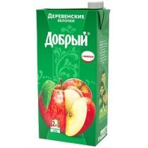 Нектар 'Добрый' деревенские яблочки 2,0л Tetra Pak