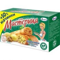 Блинчики 'Мастерица' с картошкой и грибами 6шт 420г Талосто