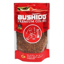 Кофе 'Bushido' (Бушидо) Red натуральный растворимый сублимированный 85г пакет