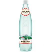 Вода минеральная 'Borjomi' (Боржоми) лечебно-столовая газированная 0,5л пл.бут