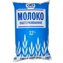 Молоко '36-копеек' питьевое пастеризованное 3,2% 800г пленка Останкинский МК