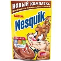 Напиток 'Nesquik' (Несквик) Плюс растворимый шоколадный 1000г пакет