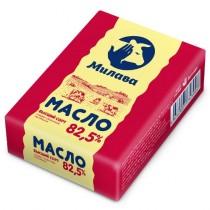 Масло сладко-сливочное 'Милава' 82,5% 180г