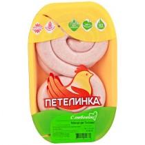 Колбаски для гриля ''По-Петелински'' охлажденные 1кг подложка