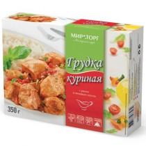 Грудка куриная с рисом и овощным соусом 'Мираторг' 350г замороженное блюдо