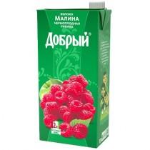 Нектар 'Добрый' яблоко, малина, черноплодная рябина 2,0л