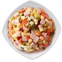 Салат 'Оливье' без заправки 1кг Кулинария ГМ