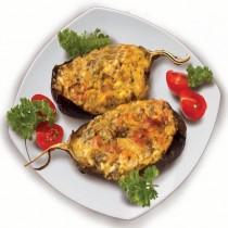 Баклажаны запеченые с помидором и сыром 1кг Кулинария ГМ