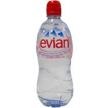 Вода минеральная 'Evian' (Эвиан) негазированная 0,5л пл.бутылка