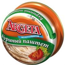 Паштет 'Argeta' (Аргета) куриный 95г ж/б