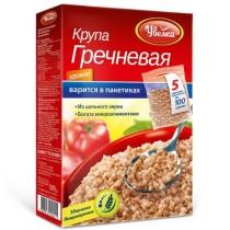 Крупа Гречневая 'Увелка' ядрица порционный 5пакХ100г Россия