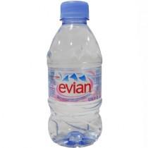 Вода минеральная 'Evian' (Эвиан) негазированная 0,33л пл.бутылка