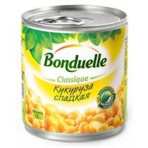 Кукуруза 'Bonduelle' (Бондюэль) сладкая 150г ж/б