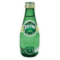 Вода минеральная 'Perrier' (Перье) газированная 0,2л стеклянная бутылка